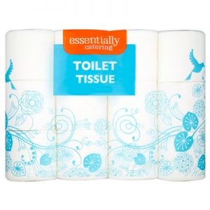 Essentially Catering Toilet Tissue 4 Honey Rolls