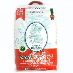 Green Dragon AAA Thai Hom Mali Fragrant Rice 10Kg