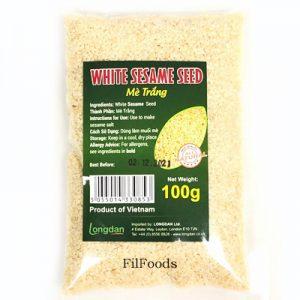 Longdan White Sesame Sesame Seed 100g