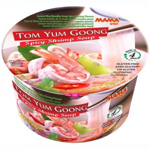 Mama Tom Yum Goong Spicy Shrimp Soup Bowl 70g
