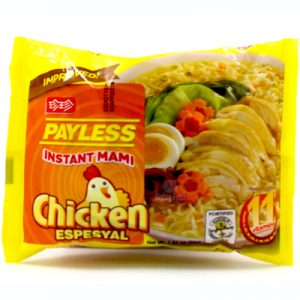 Payless Instant Mami Chicken Noodles 55g