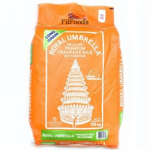 Royal Umbrella Premium Fragrant Rice Whole 10Kg