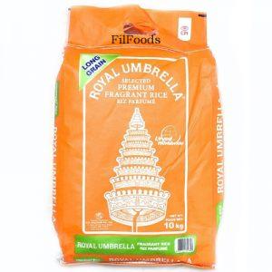 Royal Umbrella Premium Fragrant Rice Whole 10Kg
