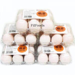 Itlog na Maalat / Salted Duck Egg (Uncooked) 6Pcs