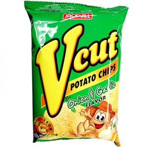 V-Cut Potato Chips – Orion & Garlic