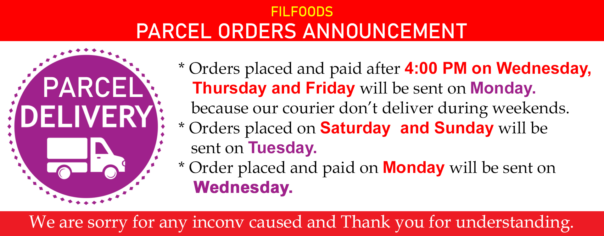 parcel announcement_1
