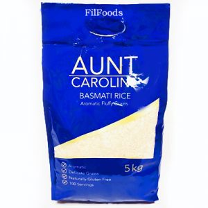 Aunt Caroline Basmati Rice 5Kg