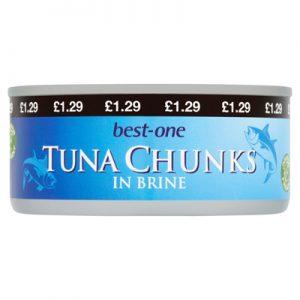 Best One Tuna Chunks160g PM:£...