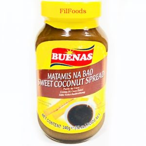Buenas Sweet Coconut Spread (Matamis Na Bao)