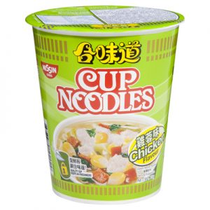 Nissin Cup Noodles Chicken Flavour 74g