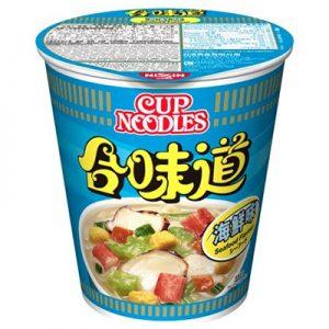Nissin HK Cup Noodles Seafood Flavour 75g