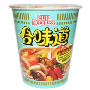 Nissin HK Cup Noodles Spicy Seafood Flavour 73g