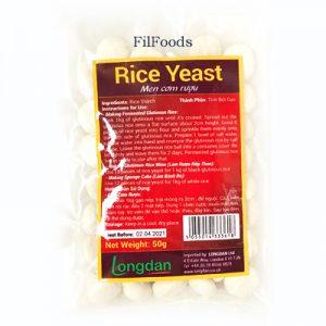 Longdan Rice Yeast 50g