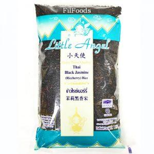 Little Angel Thai Black Jasmine Rice 1Kg