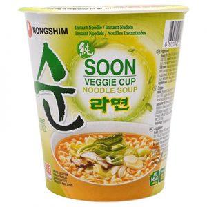Nongshim Soon Veggie Cup Noodle Soup 67g