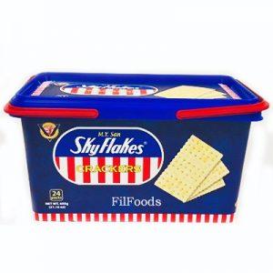 Skyflakes Crackers in Plastic Tub 600g
