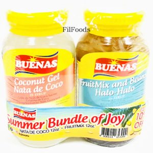 Buenas Summer Bundle Joy (Nata de Coco + Halo Halo