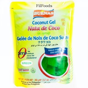 Buenas Nata De Coco Green (Pla...