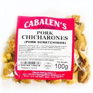 Cabalen Pork Chicharones 100g