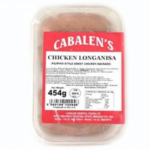 Cabalen's Chicken Longanisa 454g