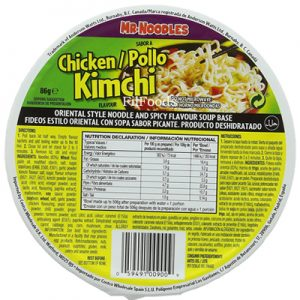 Mr.Noodles Chicken Kimchi Cup Noodles 86g
