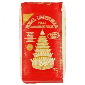 Royal Umbrella Thai Hom Mali Jasmine Rice 1Kg