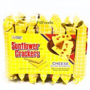Sunflower Crackers Cheese 7s