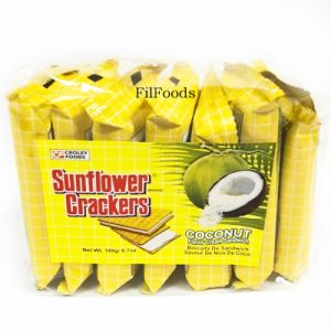 Sunflower Crackers Coconut 7s