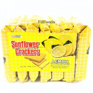 Sunflower Crackers Lemon 7s