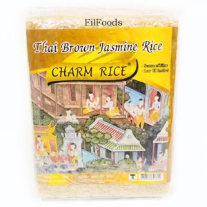 Charm Thai Brown Jasmine Rice 1Kg