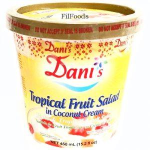 Dani's Tropical Fruit Salad in Coconut Cream