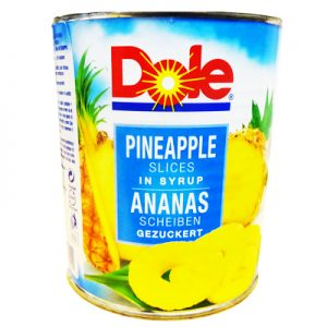 Dole Pineapple Slices in Syrup 567g