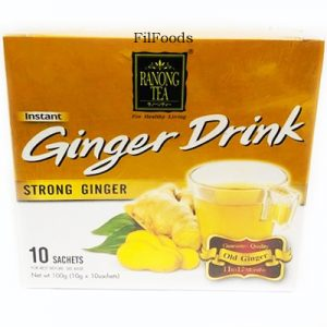 Ranong Tea Ginger Drink – Strong Ginger 10 x