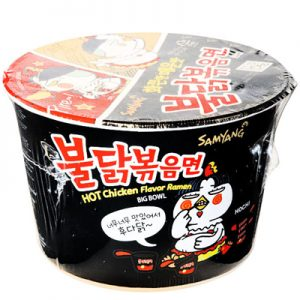 Samyang Hot Chicken Flavor Ramen (Buldak) Big Bowl