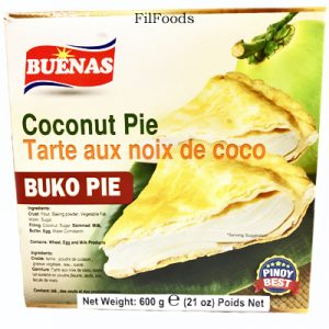Buenas Coconut Pie (Buko Pie) 600g