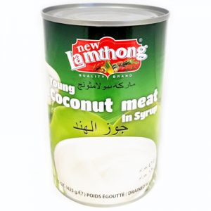 Lamthong Young Coconut Meat in Syrup
