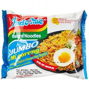 Indomie Jumbo Mi Goreng BBQ Chicken Fried Noodles