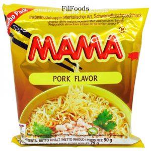 Mama Oriental Style Instant Noodles Pork Flavour 9
