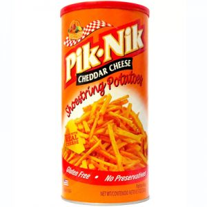 Pik Nik Shoestring Snacks – Cheddar Cheese 2
