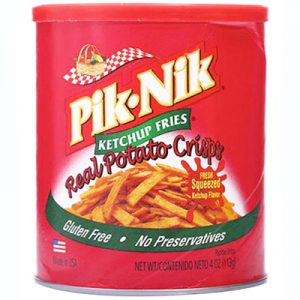 Pik Nik Shoestring Snacks – Ketchup Fries 11