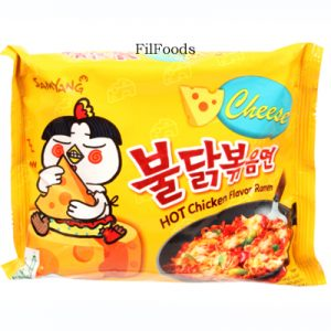 Samyang Buldak Hot Chicken Ramen – Cheese
