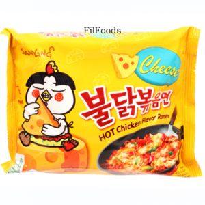 Samyang Buldak Hot Chicken Ramen – Cheese