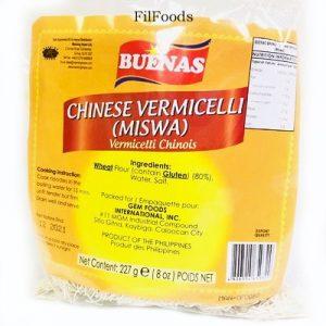 Buenas Chinese Vermicelli – Miswa 227g