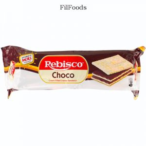 Rebisco Cream-Filled Cracker Choco Sandwich
