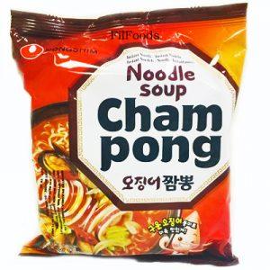 Nongshim Champong Noodle Soup 124g