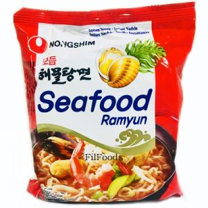 Nongshim Seafood Ramyun Noodle 125g