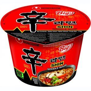 Nongshim Shin Ramyun Gourmet Spicy (Big Bowl) 114g