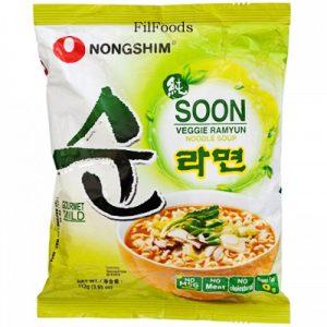Nongshim Soon Veggie Ramyun 11...