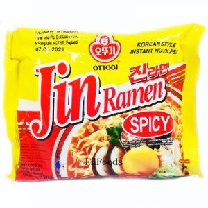 Ottogi Jin Ramen – Spicy 120g