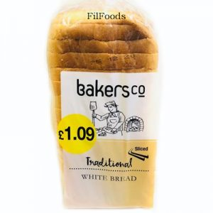 BakersCo Traditional – White Bread (16 Slice